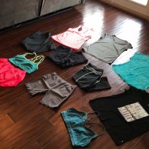 11 pc bundle sz XL Athletic Clothing Nike Fila +